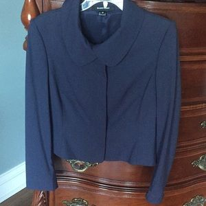 Ellen Tracy Blue Blazer